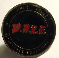 D.A.R.E.  Lapel Pin - Vintage Drugs Drug Abuse Resistance Education DARE Hat Pin