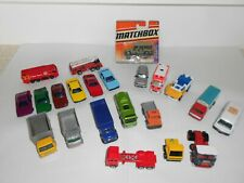 Matchbox & other makes, die cast cars/vehicles. 22 Misc styles.Good overall cond