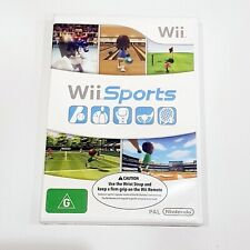 WII Sports ( Nintendo Wii ) PAL Video Game NEW + FACTORY SEALED