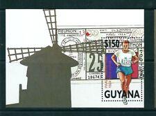 GUYANA 1991 HB 66  BARCELONA 92 MOLINO/ ATLETISMO