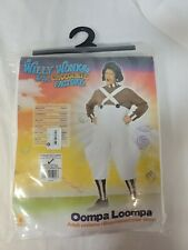 Deluxe Oompa Loompa Costume Willy Wonka Halloween Outfit NWT