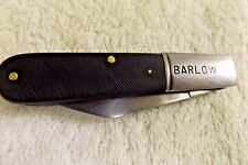 """Barlow Vintage Collectible Pocket Knife Camco U.S.A.  Two Blades 3 3/8"""""""