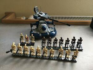 Lego Star Wars Battle Droid 20 Kampfdroiden + AAT Original
