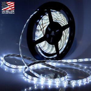 5M (200 in) 300 LED Strip Light - Daylight White - Waterproof