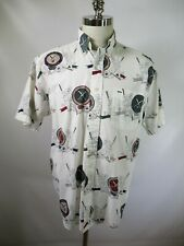 F3664 Men's Tommy Hilfiger Short Sleeve Shirt Size M