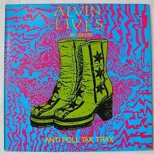 ANTI POLL TAX TRAX  (LP 33 Tours)  ALVIN LIVES (IN LEEDS)