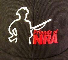 NRA FRIENDS baseball cap National Rifle Association guns Colonial Silhouette hat