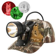 CREE 80000LUX 10W XML LED Coyote Hunting Light Mining Headlamp Waterproof & Hat