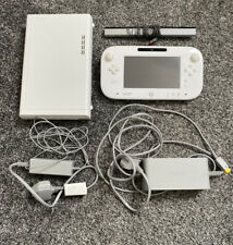 White Nintendo Wii U Console With Leads