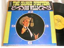 BOB WILLS Time Changes Everything Johnny Preston Tag Lambert Stetson UK LP