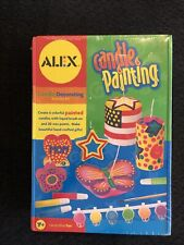 Candle Painting Kit from Alex. Create 6 Candles. New.