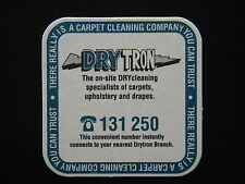 DRYTRON THERE REALLY IS A CARPET CLEANING COMPANY YOU CAN TRUST 131250 COASTER