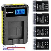 Kastar Battery LCD Charger for Nikon EN-EL14 Battery & Nikon D3500 DSLR Camera