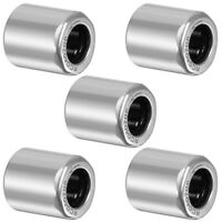 "RC040708 Needle Roller One Way Bearings 1/4"" Bore 7/16"" OD 1/2"" Width 5pcs"