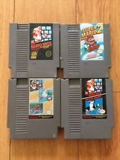 Lot of 4 NES Games/Super Mario Bros 1/Mario Bros 2 /Duck Hunt/Track and Field
