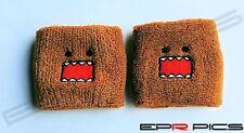 Domo Brown Reservoir Tank Socks Pair Honda Nissan Mitsubishi Toyota Subaru Drift