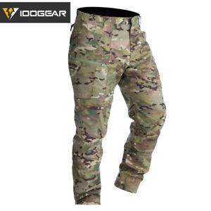 IDOGEAR LF Combat Pants Tactical Pants Camo Trousers Casual Airsoft Training MC