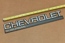 1987 1988 1989 1990 1991 GMC Chevy Suburban Tail Gate Barn Door Emblem R10 V10