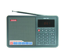 TECSUN ICR-110 (grey) AM/FM RADIO, RECORDER & MP3 PLAYER << NO BATTERY >>
