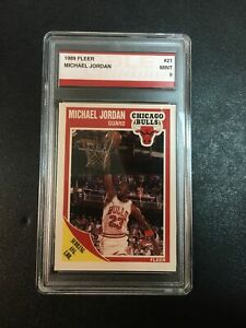 1989 Fleer Michael Jordan #21 MINT 9