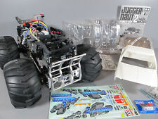 "Tamiya R/C 1/10 Juggernaut 2 Ford F350 Futaba ""Partial Built"" with Lots Upgrade"