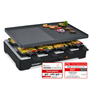 Cloer Raclette Grill 6446 8 Personen NEU