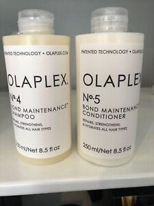 Olaplex 250ml no 4  Shampoo and 250ml no 5 Conditioner new and factory sealed