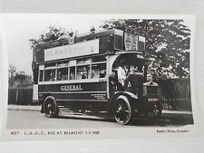 PAMLIN PRINTS M 57 - GENERAL (L.G.O.C.) S TYPE BUS - S 97 (XH 3304) ON ROUTE 180