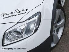 Street Racing by Opel Motorsport Aufkleber Sticker Folie Decor OPC Astra Corsa