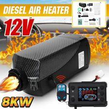 HCalory 8KW 12V Diesel Air Heizung LCD für Heater Luftheizung Standheizung LKW