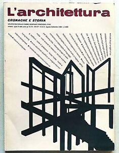 L'architettura cronache e storia n. 370 - 371 1986 Zevi Romano Chirivi Venezia