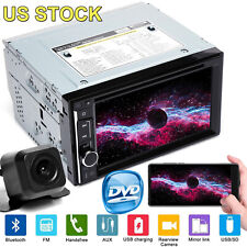 Car Auto Radio Bluetooth Stereo HD Screen DVD Player MP3/MP4 Handsfree Call