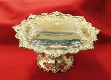 Magnificent All Sterling Cake Plate/Tazza by Shreve & Co