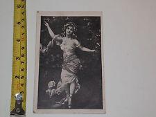 POSTCARD RARE VINTAGE LADY DANCING FASHION DRESS