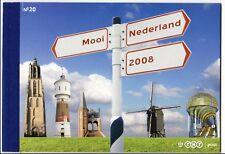 Nederland PR20 Prestigeboekje Mooi Nederland 2008 PF