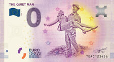 "Commemorative 0 Euro Souvenir Banknote of ""The Quiet Man"" with Maureen O'Hara"
