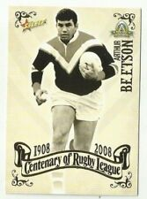 2008 NRL SELECT CENTENARY ROOSTERS ARTHUR BEATSON COMMON #77 Card free post