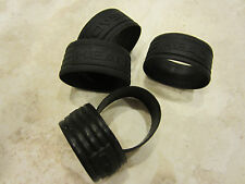HEAD RUBBER GRIP BAND FOR TENNIS RACQUETS (USED). QTY: 5