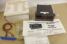 Texmate Rp-4500 Panel Meter 4 1/2 Digit Input 0-50mV Scale 0-5.000 New In Box