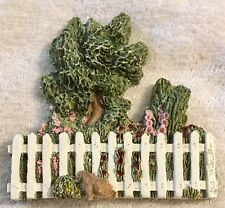 """Brian Baker Collection """"Long Picket Fence"""" Shelf or Wall Figure Accessory 1309"""