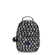 Kipling Small Backpack SEOUL GO S Tablet Protection BOY HERO Print BTS19 RRP £83