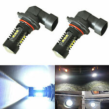 2X New H10 9145 CREE LED Fog Light Bulbs 80W 2000LM 6000K Xenon White Projector
