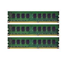 NEW 6GB (3x2GB) Memory ECC Unbuffered For Dell Precision T3500 DDR3-1333MHz