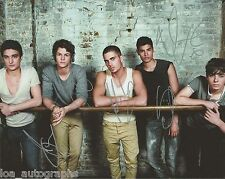 """The Wanted UK Boy Band REAL hand SIGNED 8x10"""" Photo #1 Max George w/ COA"""