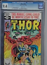Thor (1962-1996 1st Series) #299 -CGC 9.4 NM  Valkyrie app.  White Pages