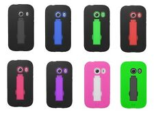 Hybrid Armor Cover Case for Straight Talk Samsung Galaxy Ace Style S765C Phone