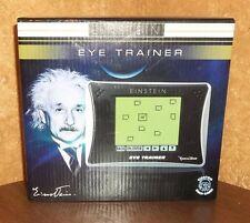 Einstein Brain Games Eye Trainer Video Game LCD Touch Screen Teen School