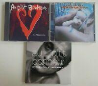 AU P'TIT BONHEUR  ♦ lot 3 x CD Album ♦ NOËL