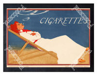Historic German Cigarettes 1890s Advertising Postcard