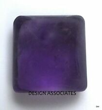 AFRICAN AMETHYST 16 MM SQUARE CABOCHON ALL NATURAL